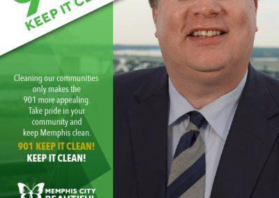 Jim Strickland Anti-Litter Ad