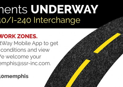 TDOT i40/240 Interchange Project Print Ad