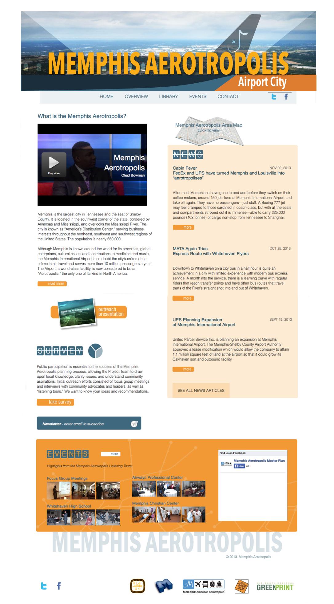 Memphis Aerotropolis website