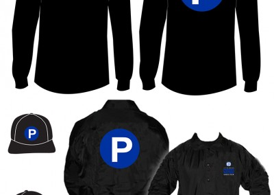 City of Memphis Parking Meters Apparel Design