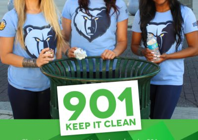 Grizz Girls Anti-Litter Ad