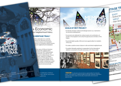 Memphis Heritage Trail Brochure