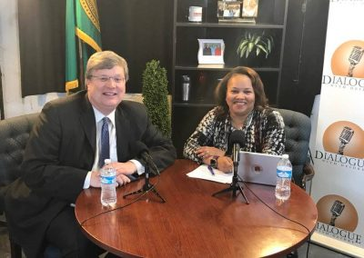 Dialogue with Mayor Strickland