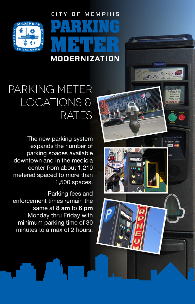 City of Memphis Parking Meters Flyer