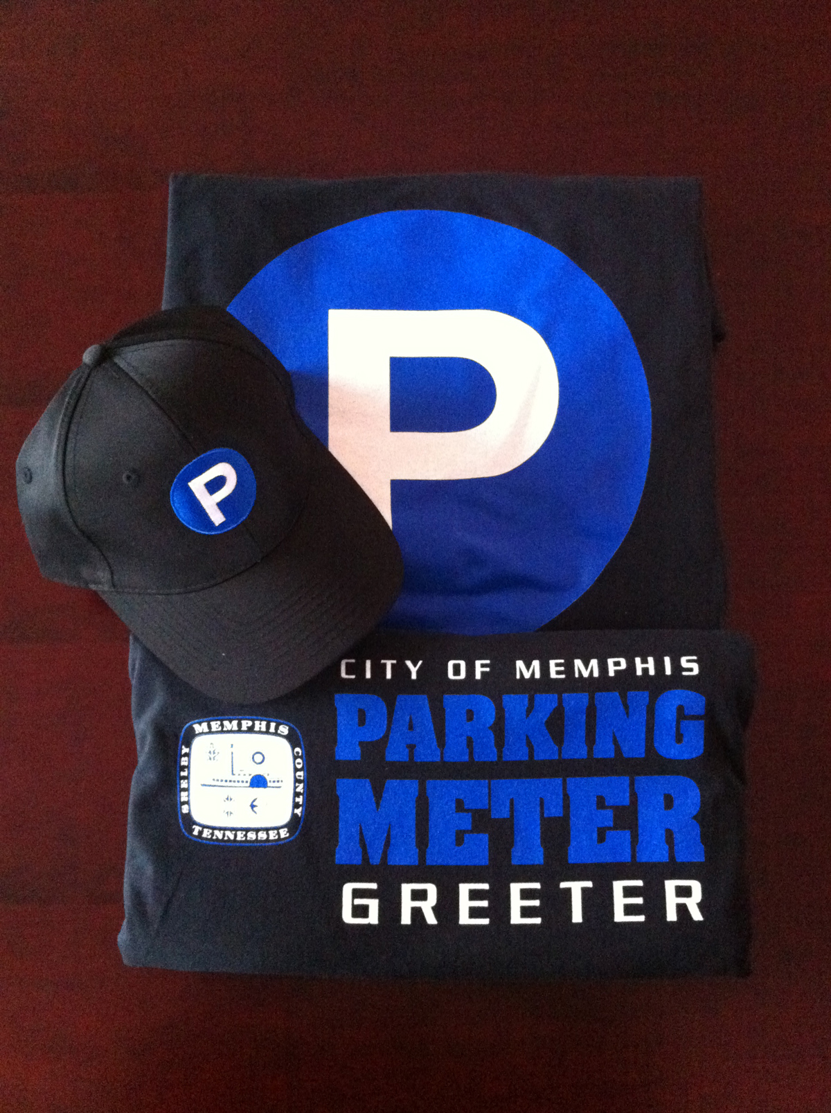 City of Memphis Parking Meters Apparel