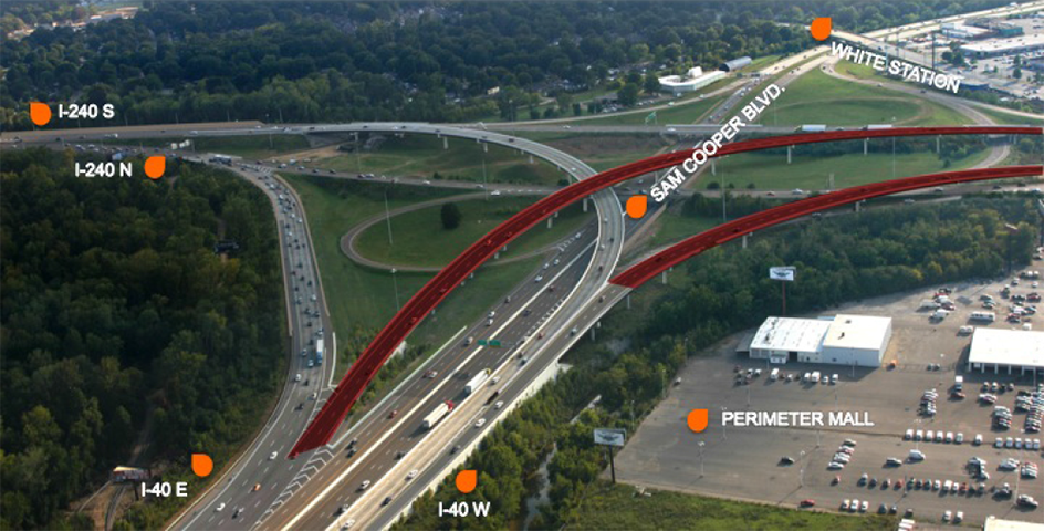 TDOT i40/240 Interchange Plan